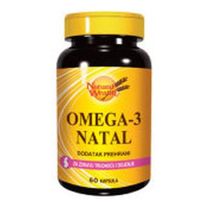 Natural Wealth omega 3-natal 60 kapsula