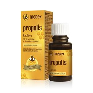 Medex propolis kapi 10% alkohola   15 ml