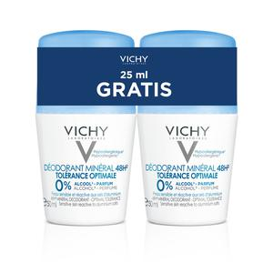 Vichy deo roll on mineral 1+1 - 50%  promo
