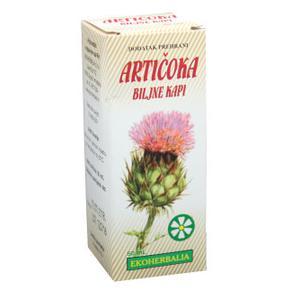 Ekoherbalija artičoka kapi za jetru 50 ml