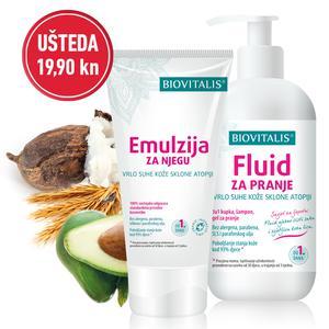 Biovitalis set 2 u 1 Emulzija 150 ml i Fluid 250 ml