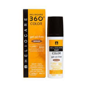 Heliocare 360 oil-free gel SPF50 BRONZE 50 ml