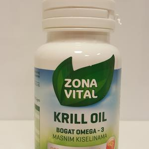 Antarctic neptune krill oil (NKO®)- ulje račića, 30 kapsula  Zona Vital