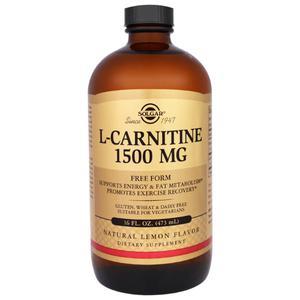 Solgar L-Carnitine 1500 mg tekući 473 ml