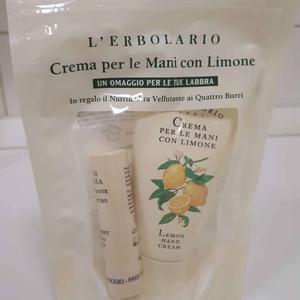 L'erbolario limun krema za ruke 75 ml+lip balm