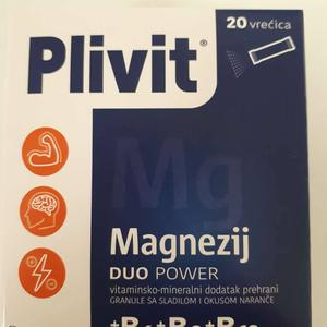 Plivit Magnezij duo power 20 vrećica