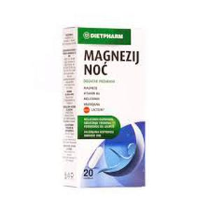 Magnezij noć 20 kapsula  Dietpharm