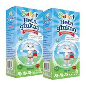 Salvit beta glukan tekući dodatak prehrani 150 ml  1+1 gratis